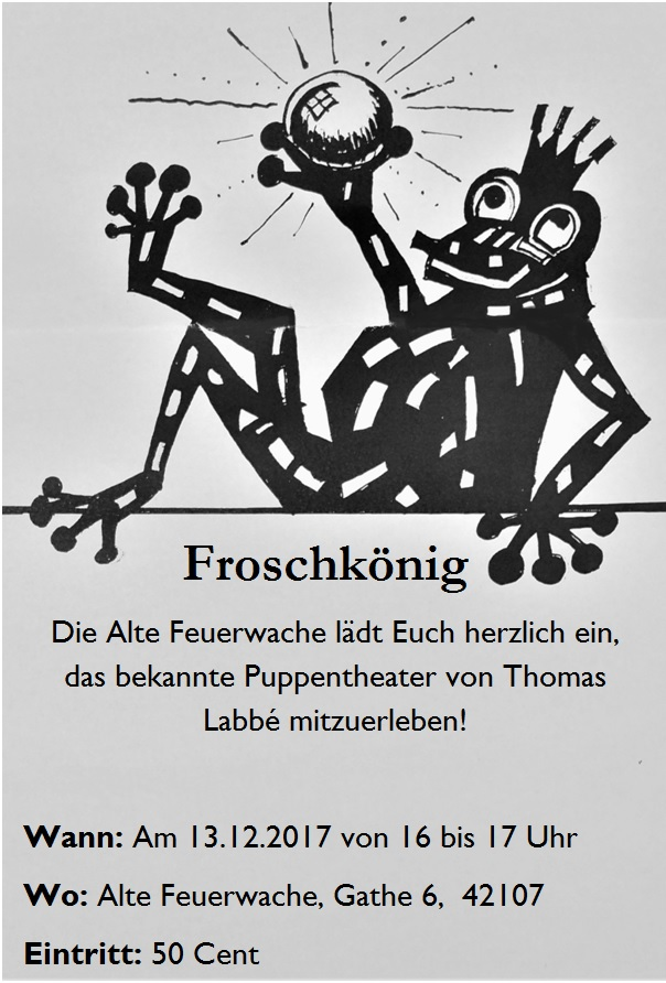 Homepage Frosch